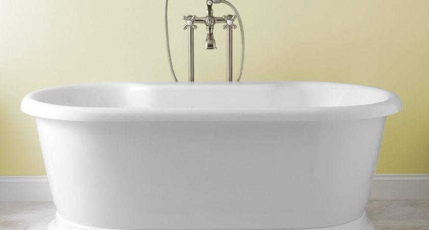 Standing Bath Tub Soaking Bathtub Freestanding