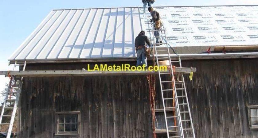 Standing Seam Metal Roof Installation Process Metalroofs