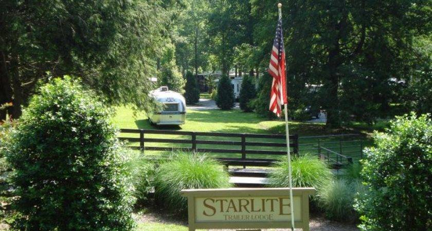 Starlite Trailer Lodge Welcome