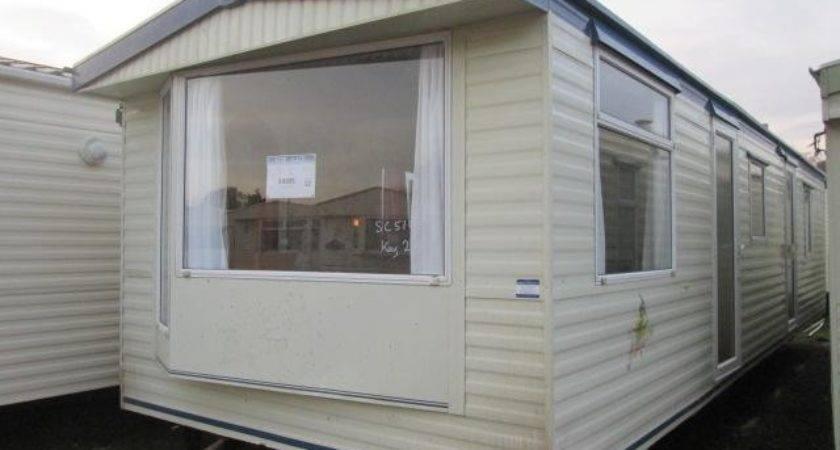 Static Caravan Mobile Home Atlas Moonstone Bed