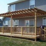 Steps Building Freestanding Deck Oleary Sons
