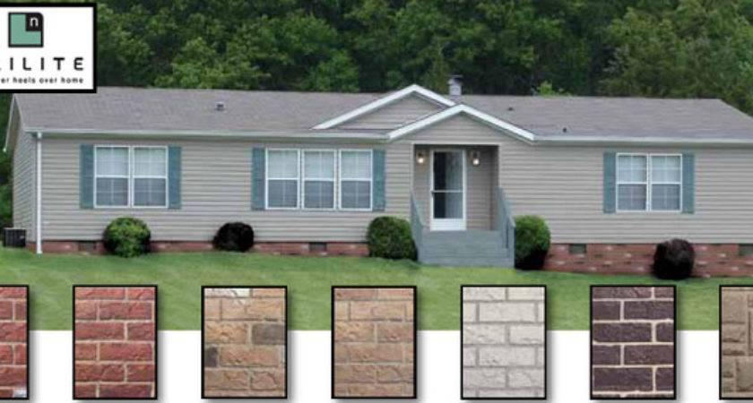 Stone Skirting Mobile Homes Factory