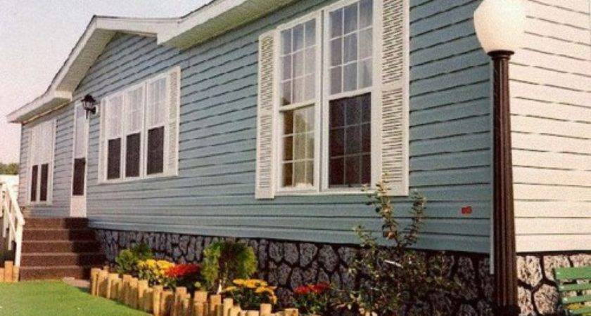 Stone Skirting Mobile Homes Photos Bestofhouse