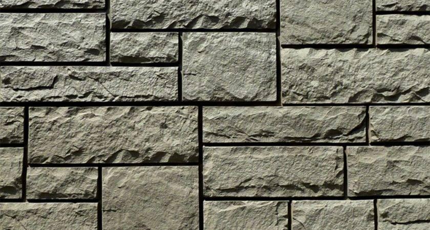Stoneworks Faux Stone Siding Limestone Volcanic Gray