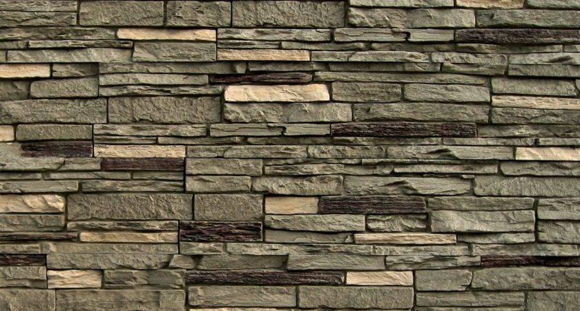 Stoneworks Faux Stone Siding Slate Iron Panel