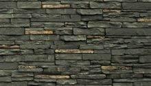Stoneworks Faux Stone Siding Slate Twilight