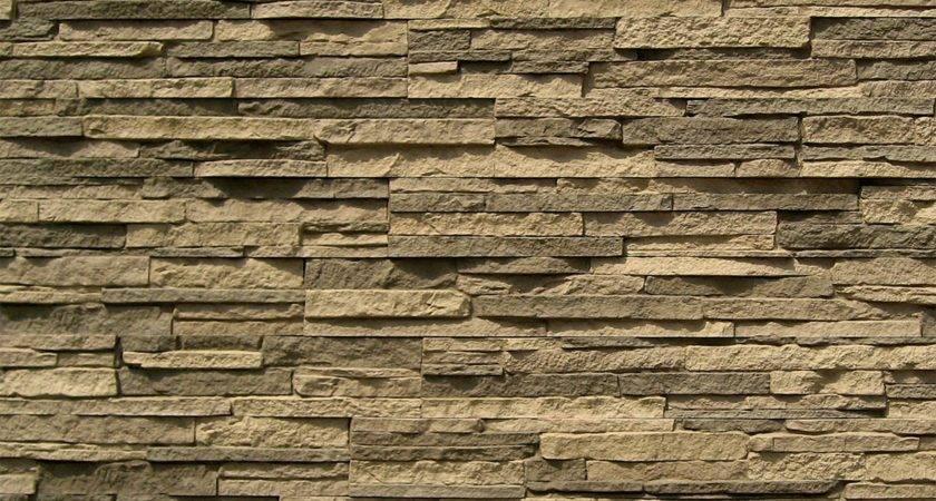 Stoneworks Faux Stone Siding Stacked Stony Gray