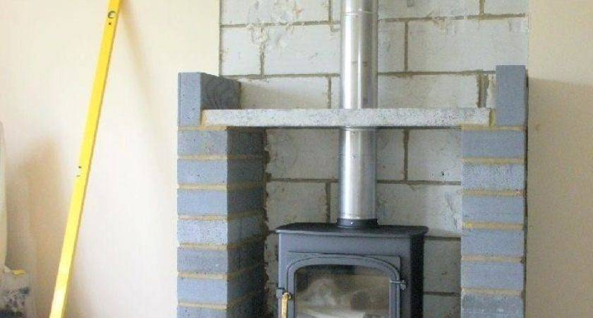 Stove Flue Twinwall Ceiling Wwwwoodburners Wood