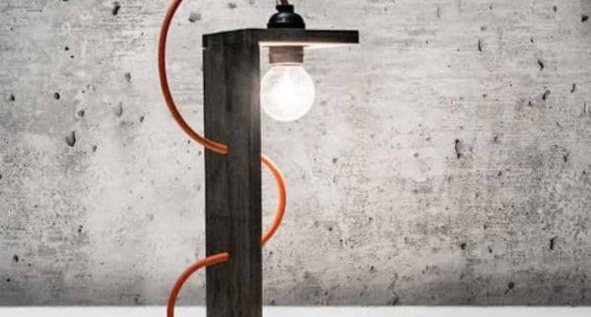 Stunning Lamps Made Reclaimed Pallets