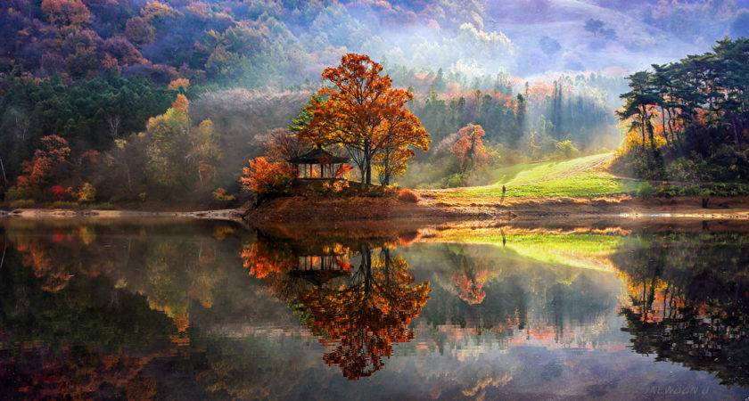 Stunning Reflected Landscapes Capture Beauty South