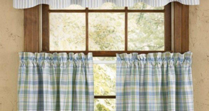 Style Kitchen Curtains Rustic Discontinued Primitive