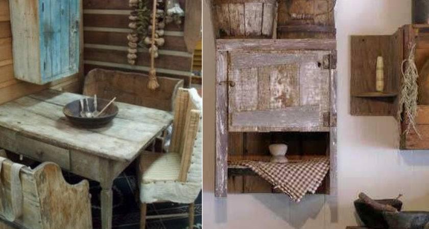 Stylish Primitive Home Decorating Ideas Decoholic