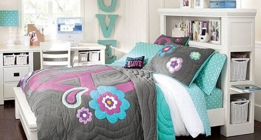 Stylish Teenage Girls Bedroom Ideas Decoration House