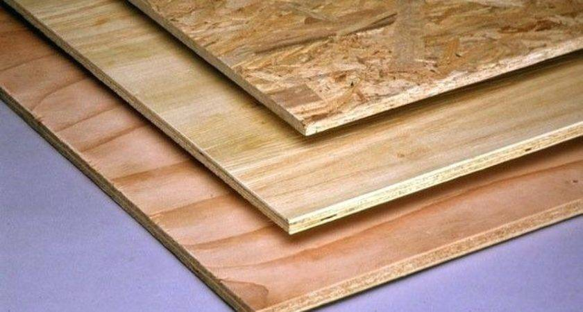 Subfloor Plywood Published Basement