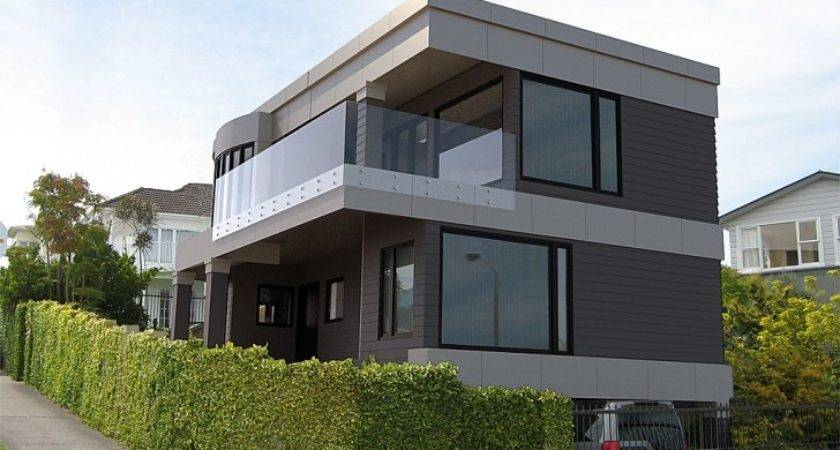 Superb Contemporary Manufactured Homes White Concrete