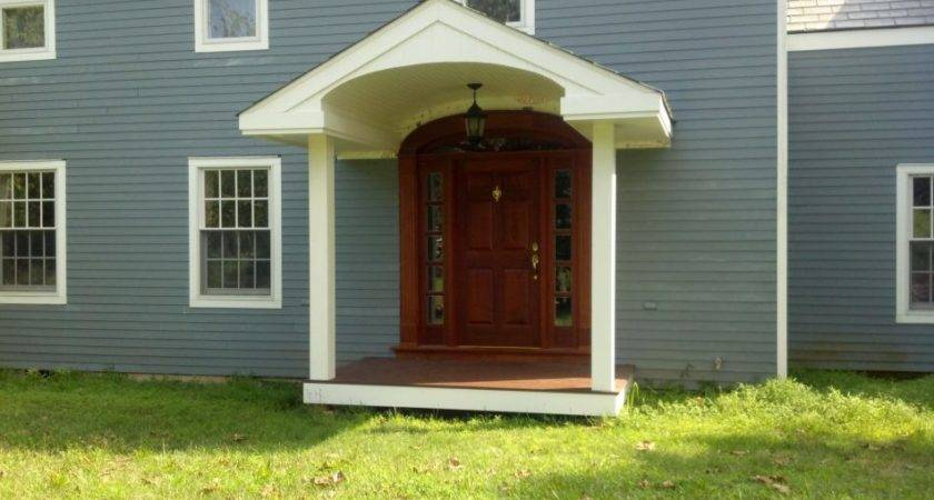 Supreme Front Door Portico Kit Doors Educational