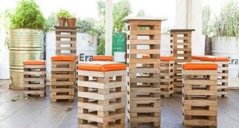 Tables Chairs Barstools Wood Pallet Bar Stool