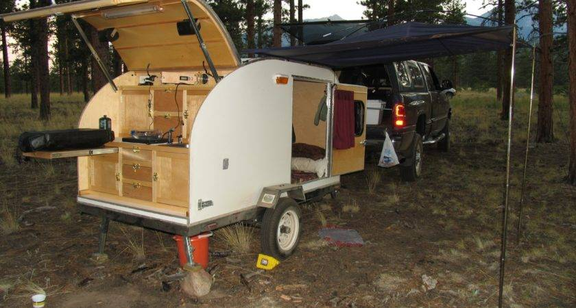 Teardrop Trailer Built Our Doovi