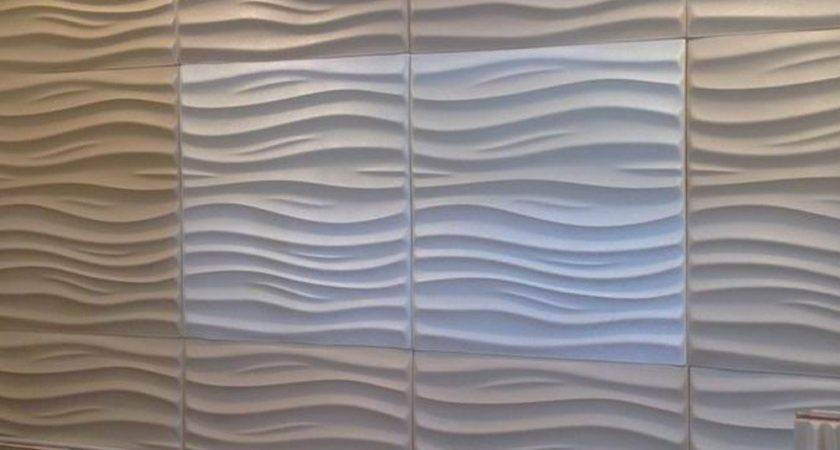 Textured Wall Panels Comfy Wooden Table