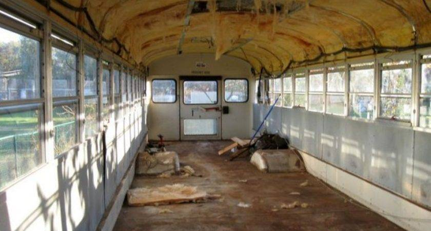 They Spent Old Bus Converted Into