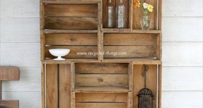 Things Make Out Wooden Pallets Recycled