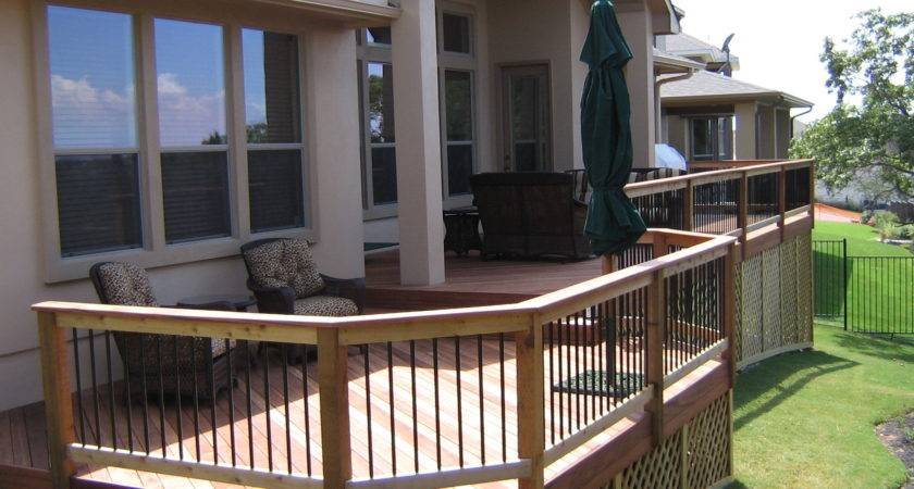 Tiger Wood Decks Austin Pergolas Covered