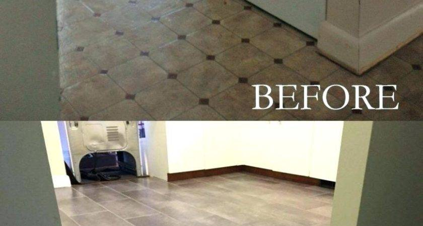 Tile Over Linoleum Rolls Vinyl
