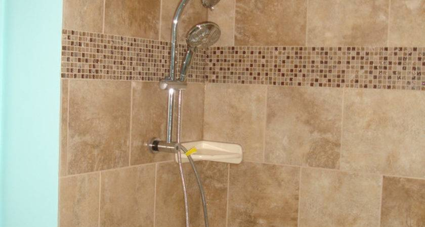 Tile Style Travertine Tub Shower Remodel Alpharetta