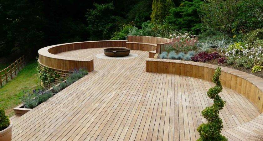 Timber Decking Godalming Surrey Landscapes