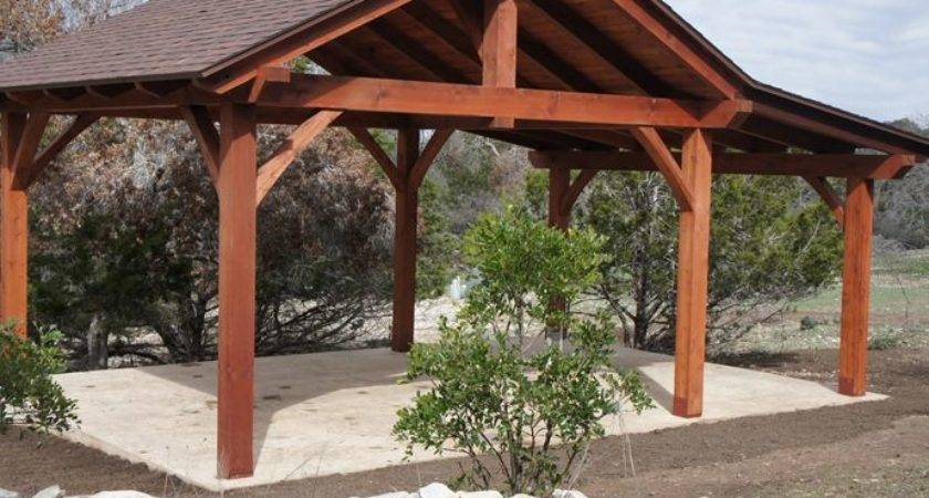 Tin Roof Outdoor Shelter Pavilions San Antonio