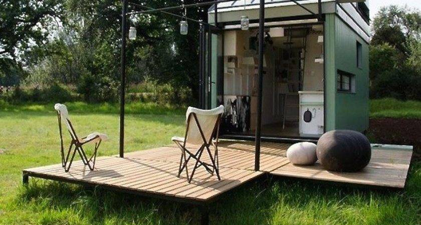Tiny Footprint Prefab Home Two Square Feet