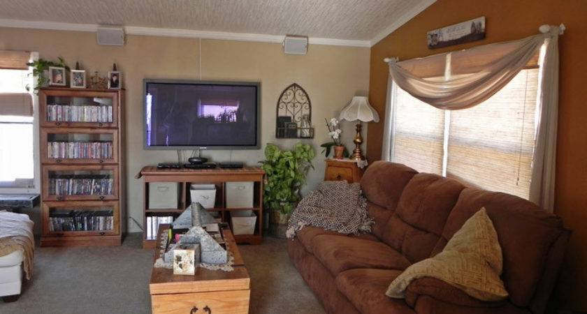 Tips Decorating Living Room Small Mobile Home