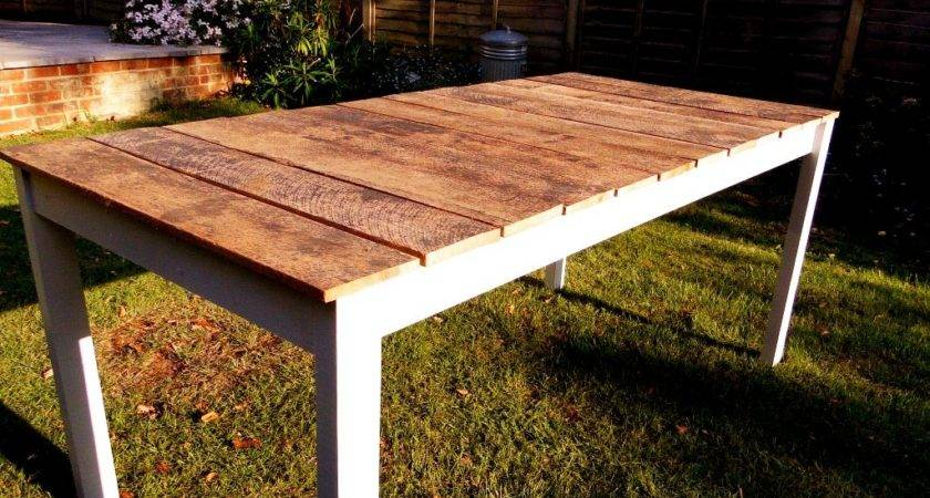 Tips Making Your Own Outdoor Furniture Wooden Tables