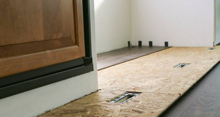 Tips Replace Flooring Inside Slide Out