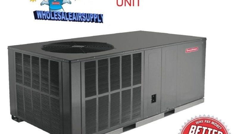 Ton Goodman Seer Package Unit Heat Pump System All