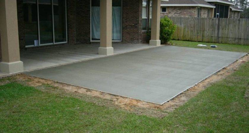 Top Concrete Back Patio Easy Painting