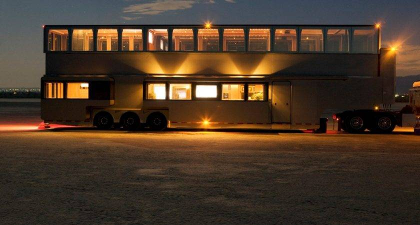 Top Double Decker Bus Motorhome Conversions