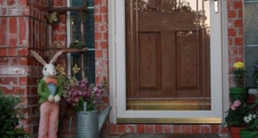 Top Easter Front Porch Decors Easy Garden Design