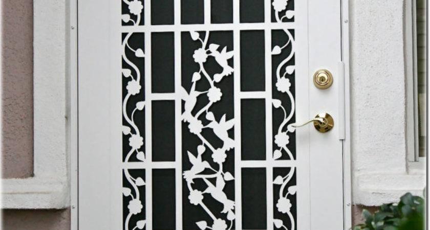 Top Inspired Ideas Security Screen Doors Homes