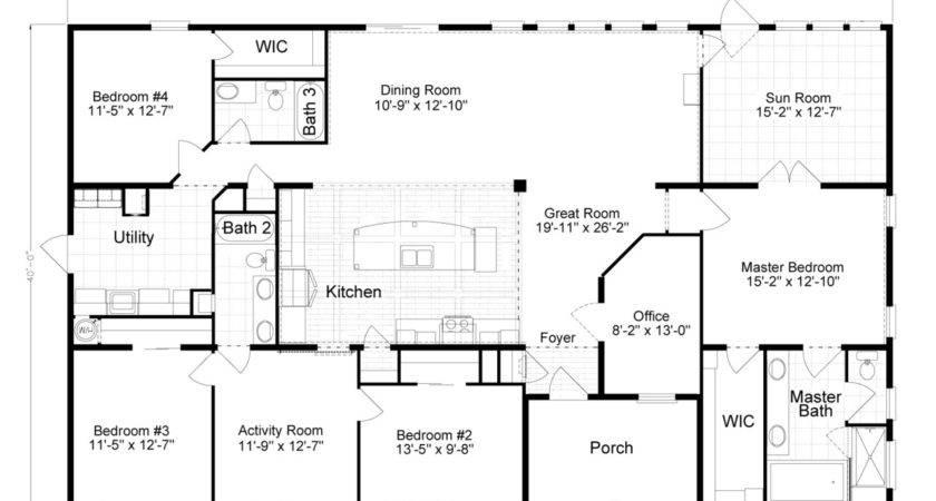 Tradewinds Manufactured Home Floor Plan