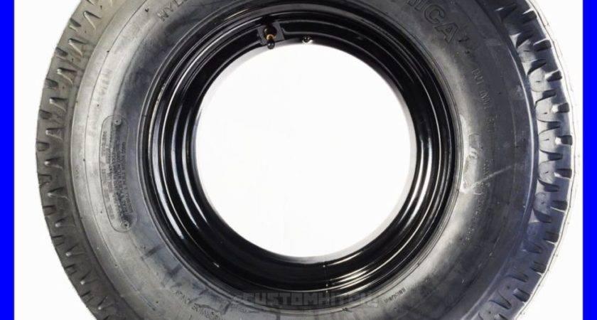 Trailer Tire Rim Load Range Ply