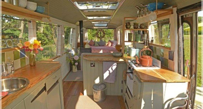 Transforming Big Yellow School Bus Into Cozy Home