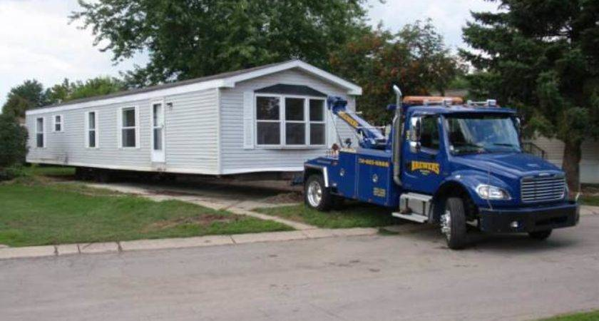 Transporting Mobile Home Find Right
