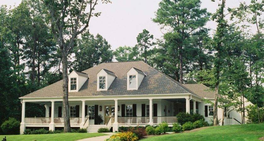 Tremendous Single Story House Plans Wrap Around Porch