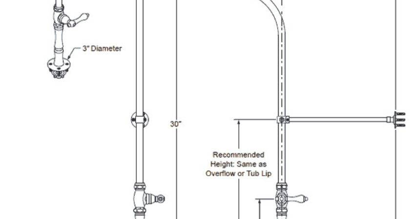 Tub Shower Faucets Supply Lines