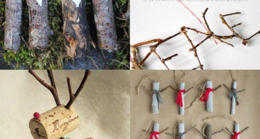 Twig Christmas Ornaments Make