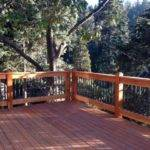 Two Story Wrap Around Deck Custom Design Railings