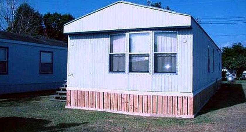 Types Mobile Home Skirting Homes Ideas