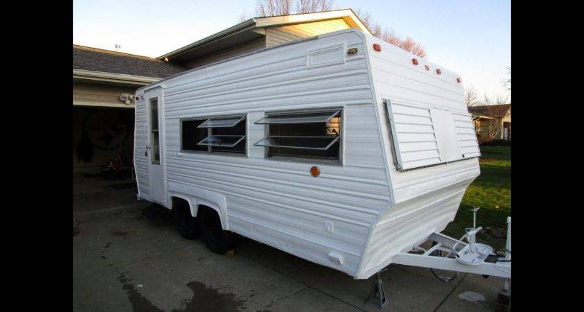 Ultimate Camper Roof Fix Paint Job Youtube