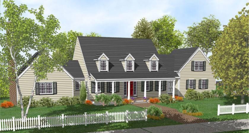 Unique Cape Cod House Plans Porch